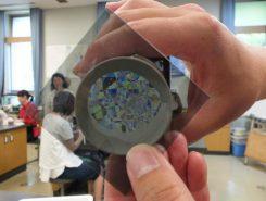 複雑な模様の万華鏡になった!