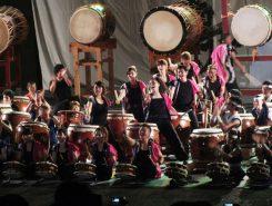 地元甲賀町のホストチーム「小佐治すいりょう太鼓」