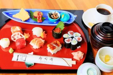 寿司清さん提供 華やか御膳