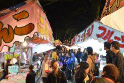 八幡の春の三大祭「左義長まつり」に引き続き「八幡まつり」が始まった