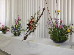 個性的な生け花