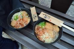 近江八幡名物「ちょうじふ」が今年から3個になりボリュームアップ!好評につき200食が早くに完売した
