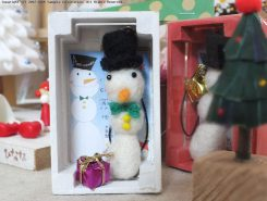 jewelbox1周年記念に作られた雪だるまマスコット