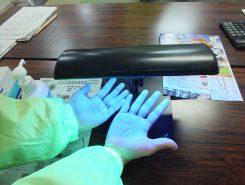 手洗い実験