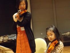 お母さんもわたしも初めてのヴァイオリン