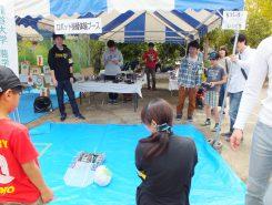 込田公園では近隣の大学の学生による子ども向けのイベントが好評だった