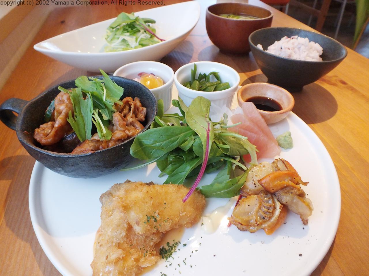 和食ベースのおしゃれなランチ | 滋賀ガイド!