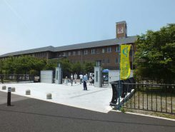 アート体験ができる立命館守山中学・高校