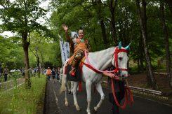 白い馬に乗った織田信長に出会った!