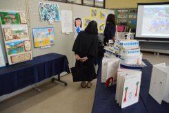 小学生の活動を展示紹介
