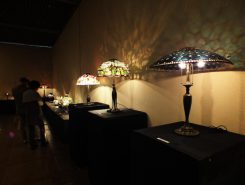 杉浦照子さんの工房「グラスヴァーレ」 3年ぶりの作品展