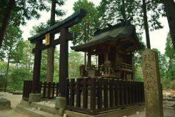 会場の一つである甲賀寺跡。普段は静かに佇んでいる