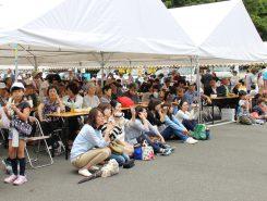 たくさんの観客