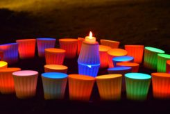 信楽焼の光が透ける透光陶器は特殊な調合と技術によって作られた