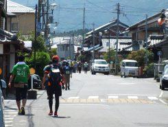 旧東海道の町並みを楽しみながらゆっくり歩こう