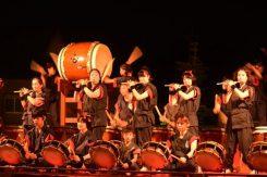 紫香楽太鼓「炎」による演奏