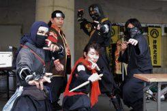 伊賀流忍者サークル「伊賀之忍砦」によるパフォーマンスショー