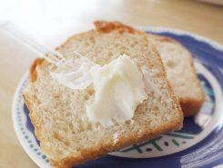 その場でパンに塗って試食