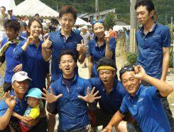 「team Hanayoshi」の皆さん