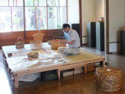 8月22日(土)・23日(日)には会場でも竹編み体験ができる