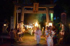 新宮神社から、次々と出発