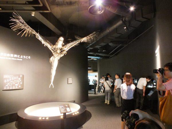 1cmのミジンコを巨大化した展示