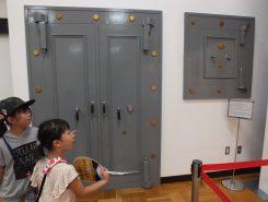 旧滋賀銀行木之本支店の大金庫