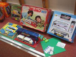 懐かしいおもちゃなど約1000点が展示