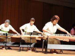 生田流筝曲 遊心会のメンバーによる演奏