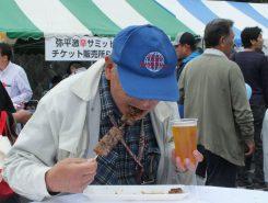 「ビールが進むね!」