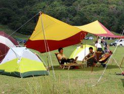 BIG AGNESのテント