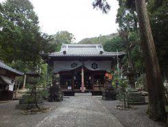 湯谷神社の様子