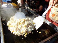 熱々を召し上がれ!日野菜のチャーハン