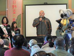 ゲストは日野町出身、レスリングの園田選手