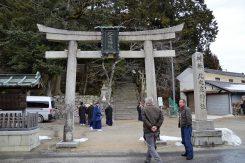 北之庄町の中心にある北ノ庄神社。住人の大切な憩いの場でもある