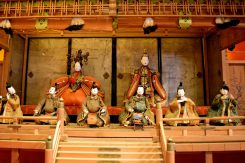 雅楽人形は1820年頃のものとされている