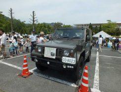自衛隊の車両展示
