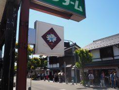 八幡神社鳥居の近く、ケンコーファーマシーの2階。この看板が目印