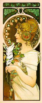 ②《羽根》1899年 OGATAコレクション