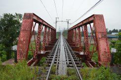 2008年登録有形文化財の指定を受けた愛知川橋梁