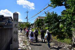 松尾神社へと向かう