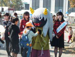 八日市は妖怪地!?東近江市のゆるキャラは地域に伝わる、しつけの妖怪「ガオさん」