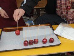 ピックランド産のリンゴ飴