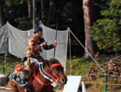 装束、馬装なども古来のスタイル