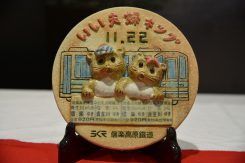 いい夫婦切符(1,840円)。夫婦で信楽⇔貴生川1往復分(おとな2往復分)