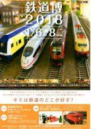 2018年1月6日~8日、「鉄道博2018」に信楽高原鐵道も出展