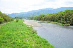 高時川は淀川水系の河川