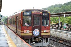 信楽と貴生川間を往復する信楽高原鐵道