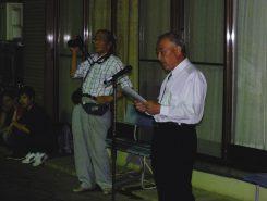 宮総代代表 上田和生さんの挨拶