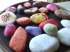 石ぶんちん作り